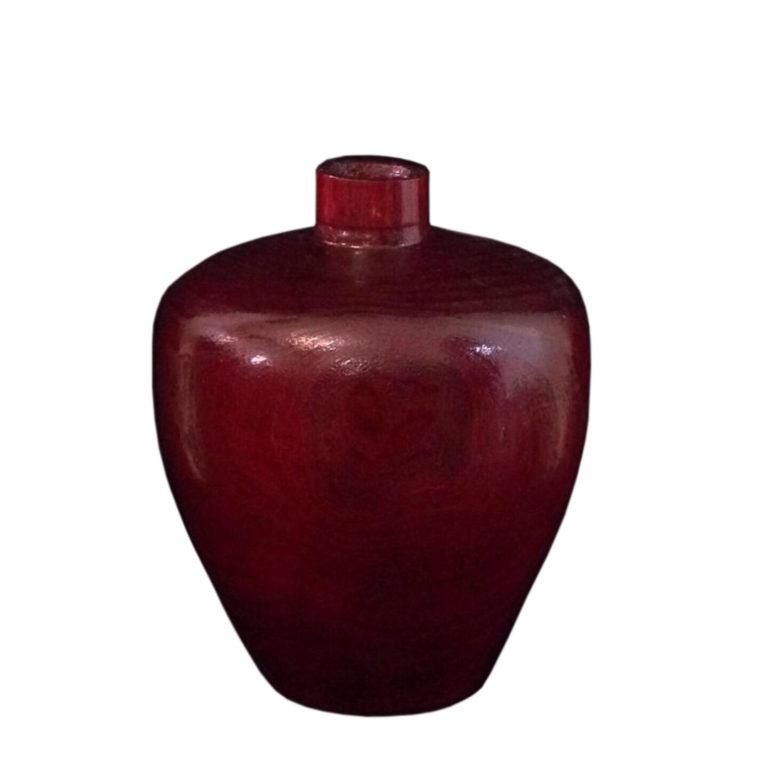 گلدان چوبی خراطی شده 1474