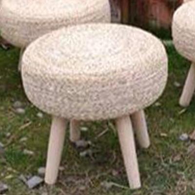 میز حصیری 4 پایه دار قطر 50 سانتیمتر