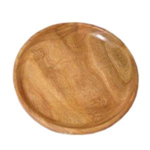 بشقاب چوبی تکی