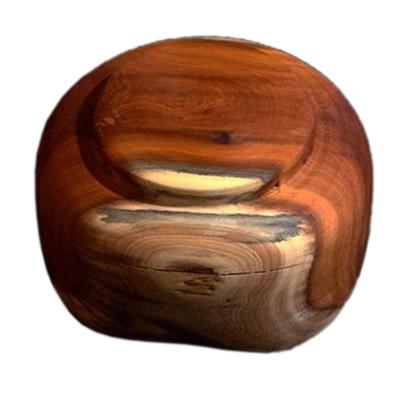 کاسه چوبی سرخ دار