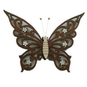 پروانه تزیینی 3 تیکه